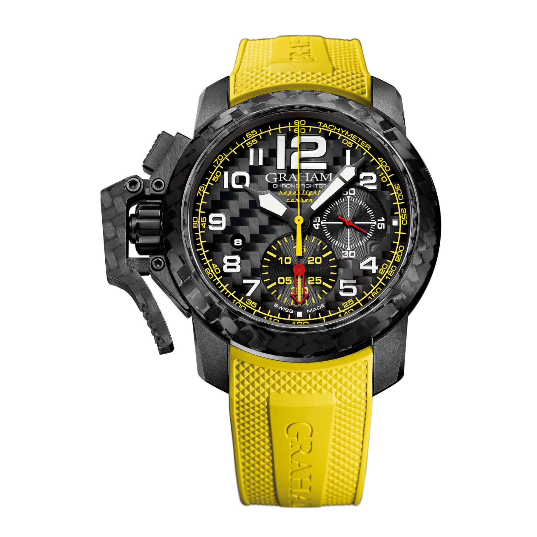 CHRONOFIGHTER SUPERLIGHT CARBON YELLOW