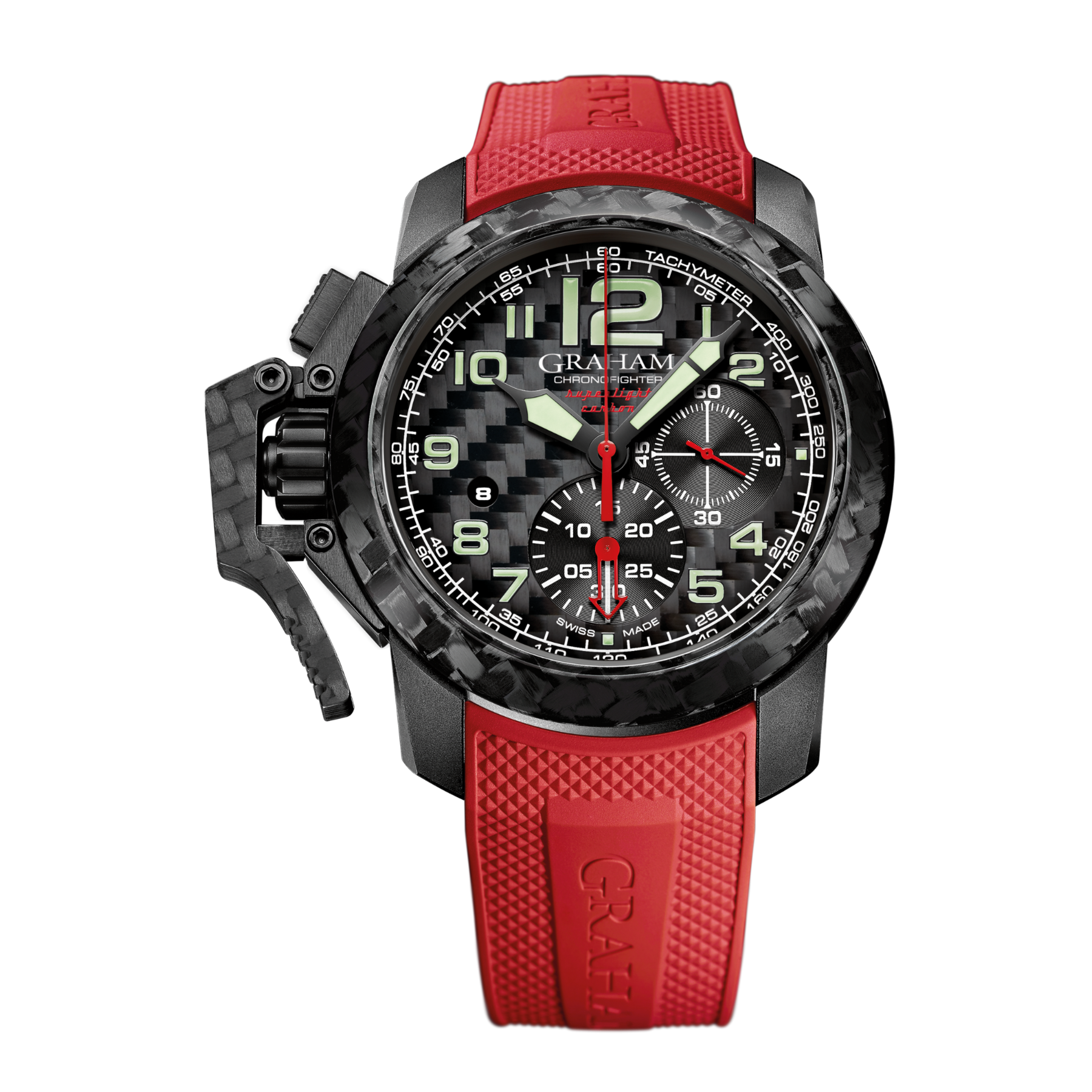 CHRONOFIGHTER SUPERLIGHT CARBON RED