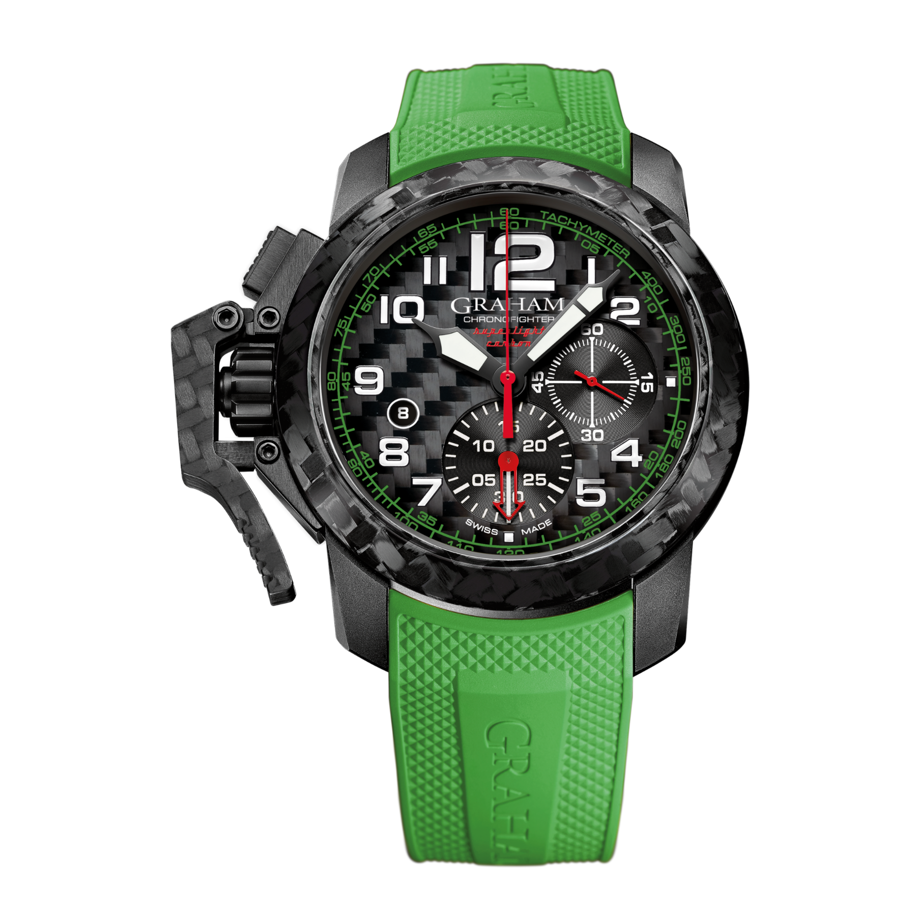 CHRONOFIGHTER SUPERLIGHT CARBON GREEN