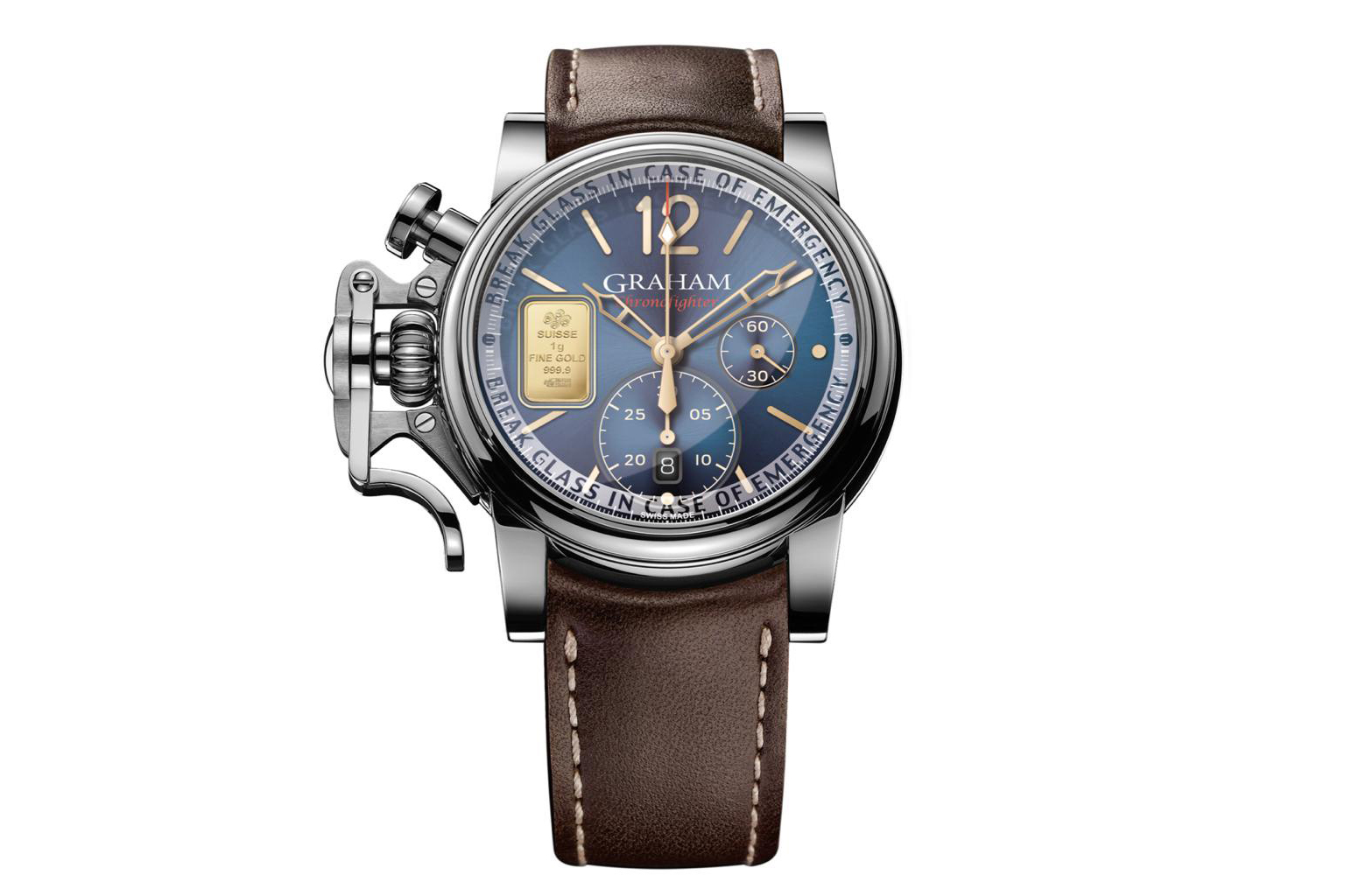 You are currently viewing 2021年10月 新作CHRONOFIGHTER VINTAGE Lim Emergency Gold が発売